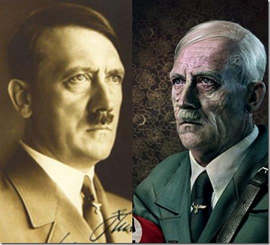 Гитлер в старости
